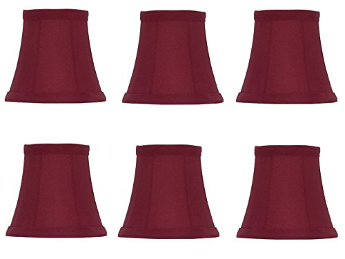 Red Fabric Mini Chandelier - 1