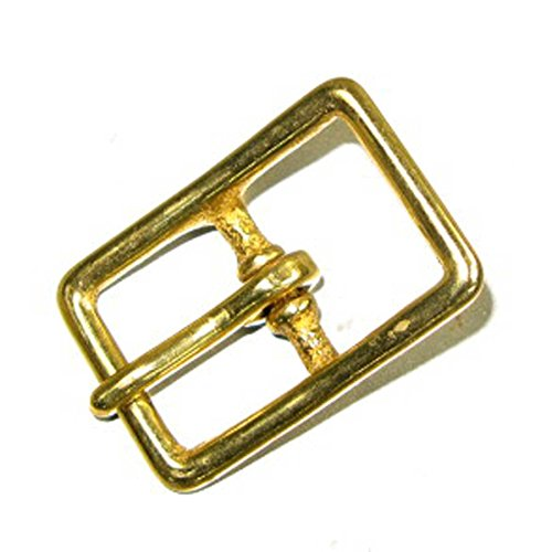 Halter Buckle Solid Brass 3/4