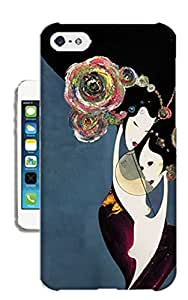 Pinellia Shop The Classical Beauties Illustrations TPU Hard Phone Case for Iphone 5c