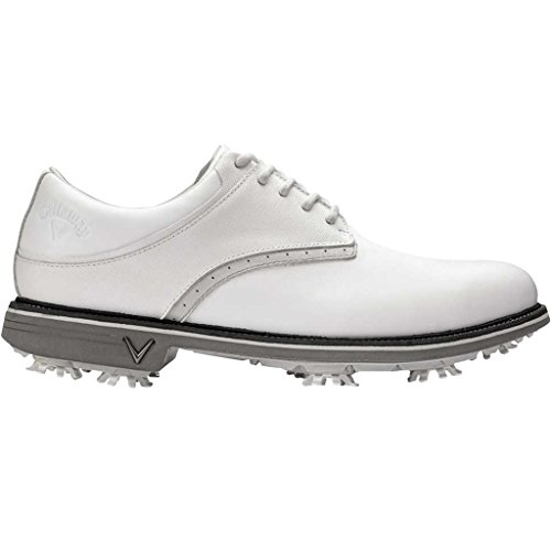 (Callaway Golf 2018 Mens X Series Apex Tour Spiked Golf Shoes White 9.5UK)