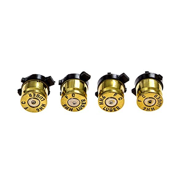 PS4 Bullet Buttons Gold Silver Made Using Real Once Fired 9MM Bullet Casings - Designed for PS4 PS3 and PS2 Controllers 4