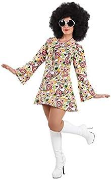 DISBACANAL Disfraz Hippie años 70 Mujer - -, L: Amazon.es ...