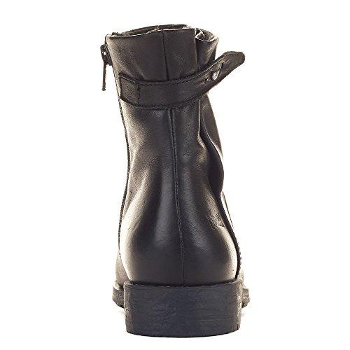 Cougar Skor Kvinnor Yazoo Stövlar Svart Läder