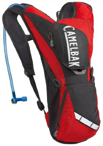 UPC 713852615284, Camelbak Rogue 70 oz Hydration Pack, Racing Red/Charcoal