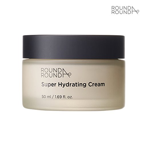 [ROUND A'ROUND] Super Hydrating Cream 50ml - Natural Ingredients, Moisturizing and Soothing Cream