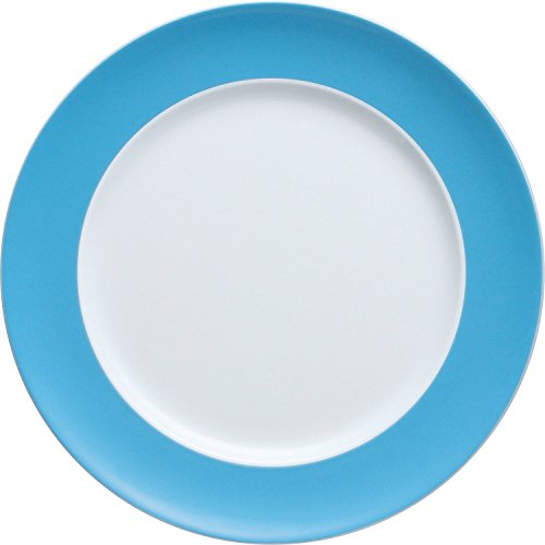 Thomas Sunny Day Dinner Plate, Porcelain, Water Blue, Dishwasher Safe, 27 cm, 10227