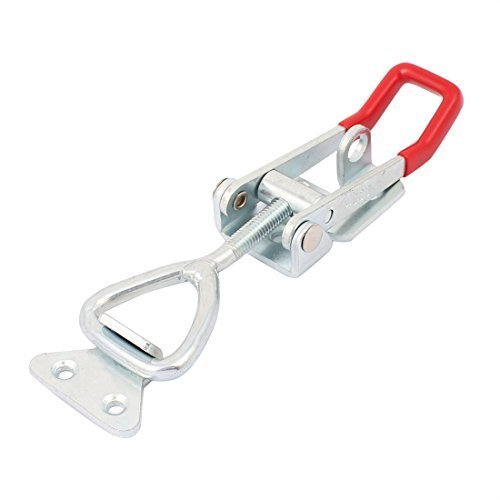 1Pcs Metal Toggle Clamp Pull Action Quick Release Latch 4003 300KG//661 lbs Holding Capacity Latch Button Toggle Latch
