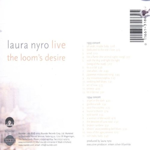 Live: The Loom's Desire [2 CD] by NYRO,LAURA