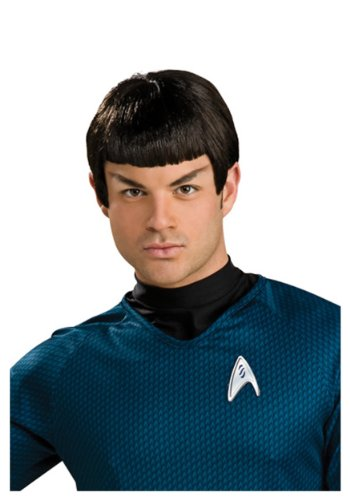 Spock Vinyl Wig with Ears - -