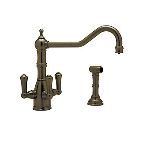 Rohl U.1576LS-EB-2 Perrin /& Rowe Filtration Country Three Lever