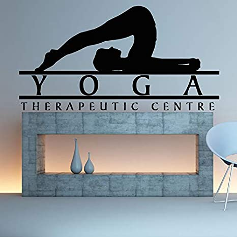 Yoga Sticke Decal Body-building Posters Vinilo Tatuajes de ...