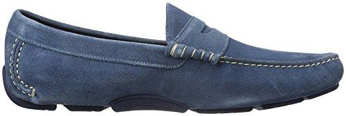 Salvatore Ferragamo 604668, Mocasines Hombre, Azul, EU 43 (US 10EEE): Amazon.es: Zapatos y complementos