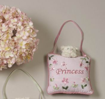 Princess Door Hanger (Girl's Room Princess Door Hanger With Cat)