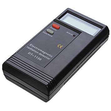 Detector de radiación electromagnética LCD DT1130 EM Meter Dosímetro.: Amazon.es: Electrónica