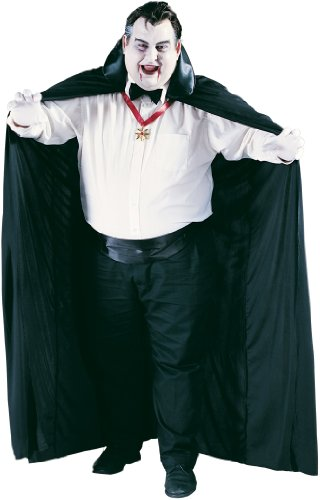 Size 24w Halloween Costumes (Cape Costume Accessory - Standard - Chest Size 33-45)