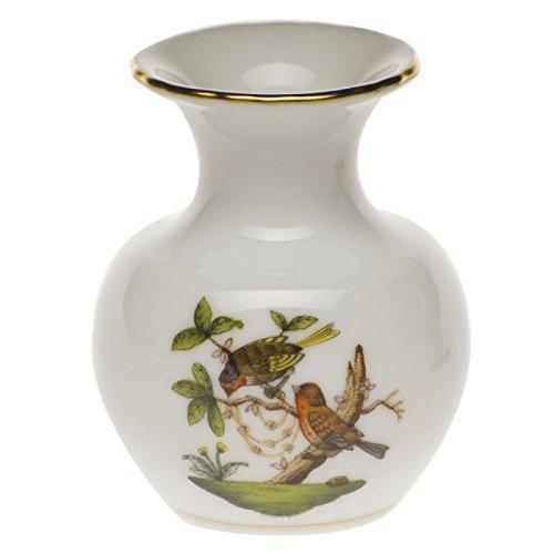 Herend Rothschild Bird Bud Vase