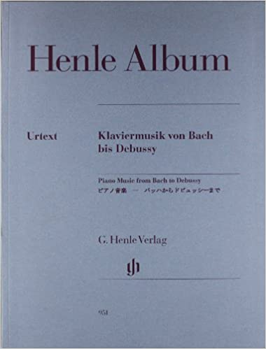 Piano Music from Bach to Debussy - piano - HN 951 - 9790201809519: Amazon.es: various composers: Libros en idiomas extranjeros
