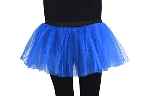 Soleil2012 - Falda - enaguas - para mujer azul real
