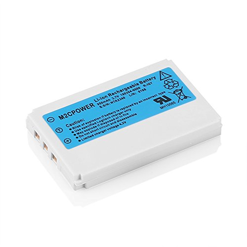 M2cpower® Logitech Replacement Li-ion Battery for Harmony One Remote 880 890 720 900 (LATEST VERSION)