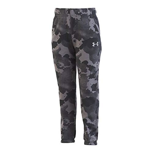Under Armour Boys' Little Rival Jogger, camo Graphite, 7