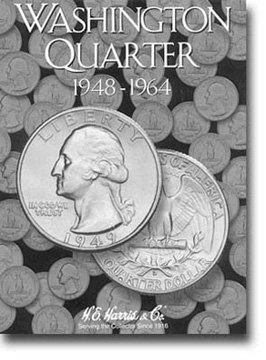 Harris Coin Folder – Washington Quarter #2 Folder 1948-1964 – #8HRS2689