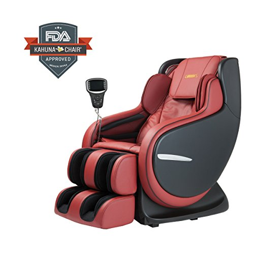 Ultimate Massage Experience - Best 3D Kahuna Massage Chair LM-8800S Red
