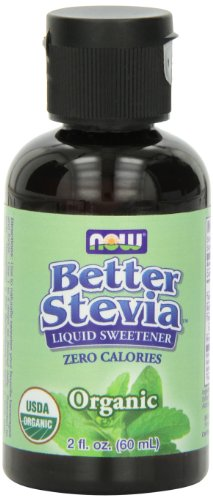 Now  Better Stevia Organic Sweetener, 2 oz