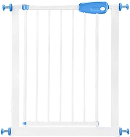 Ancho de la puerta de seguridad para niños 67-75 cm Escalera Puerta de la cerca de seguridad sin perforación Función de cierre automático (Tamaño : Cylindrical installation): Amazon.es: Hogar