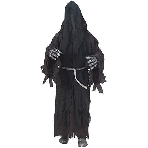 Ringwraith Deluxe Adult Mens Lord of The Rings Nazgul Black Riders of Death Costume ()