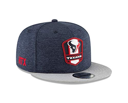 New Era Houston Texans 2018 NFL Sideline Road Official 9FIFTY Snapback Hat