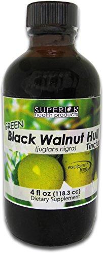 Superior Health Products - Green Black Walnut Tincture - 4fl.oz