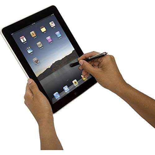 Targus Stylus for iPad, iPhone, iPod, Samsung Tablets, Smartphones and Other Touchscreen Devices, Black (AMM01US)