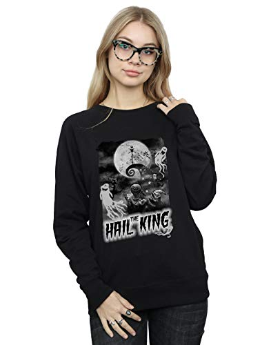 Negro The Camisa Christmas De Hail Nightmare Before Disney King Mujer Entrenamiento wvqBPnHS