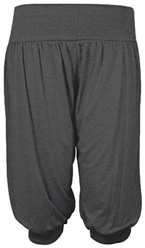 Fashion & Freedom - Pantalón - para mujer gris oscuro
