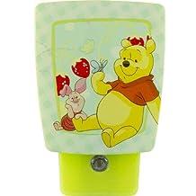 Jasco Products 11753 Disney Winnie the Pooh LED Wrap Around Shade Night Light by Jasco