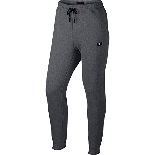 Nike Mens NSW Modern Jogger Sweatpants Carbon Heather/Black 835862-091 Size X-Large