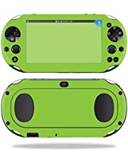 MightySkins Skin Compatible with Sony PS Vita (Wi-Fi 2nd Gen) wrap Cover Sticker Skins Glssy Lime Green