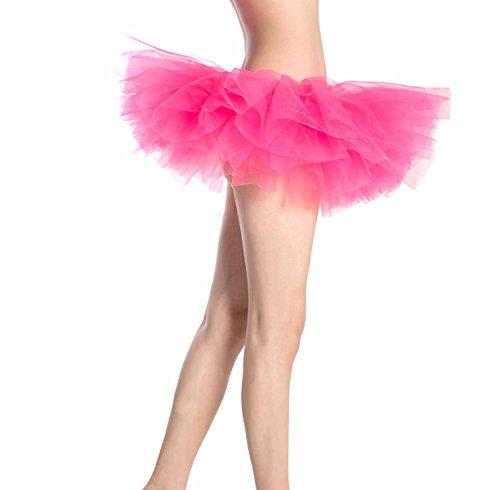 Adulto Danza Natale Balletto Sottoveste Rosa Ballerina Abito Halloween Bambina Corta Per Principessa Pizzo Tutu Carnevale Cosplay Ballo Organza In Vestito Tulle Bienbien Gonna Scuro Donna nOP0wk