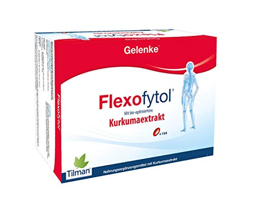 Flexofytol Bio-optimized Turmeric Extract for Joints and Arthritis – 180 Gel-Caps