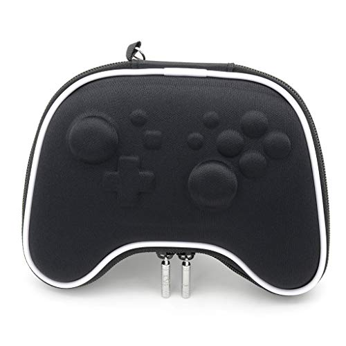 JUNESUN EVA Airform Hard Pouch Shell Case Bag Sleeve Protective Game Carrying Storage Travel Bag for Nintend Switch NS Pro Controller ()