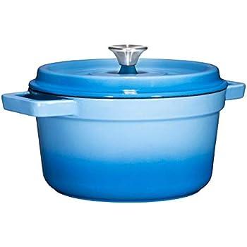 Amazon.com: Vremi Enameled Cast Iron Dutch Oven Pot with