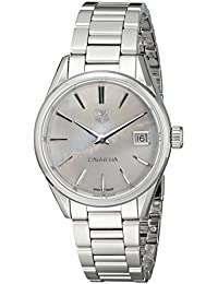 TAG Heuer Women's WAR1311.BA0773 Carrera Analog Display Swiss Quartz Silver Watch