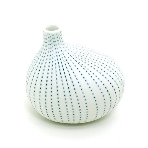 bloomylife-handmade-white-porcelain-ceramic-flower-pots-planter-pots-omo-mini-blue-dotted