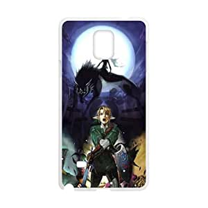 Magical wolf and man Cell Phone Case for Samsung Galaxy Note4