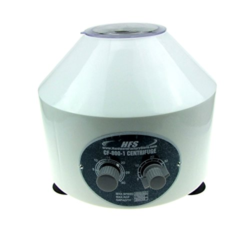 Hfs (R) New Desktop Electric Centrifuge Lab (Timer 0-60min) 0-4000 RPM Cap:20ml X 6 Tube (800-1) 110v (No for Medical Use)