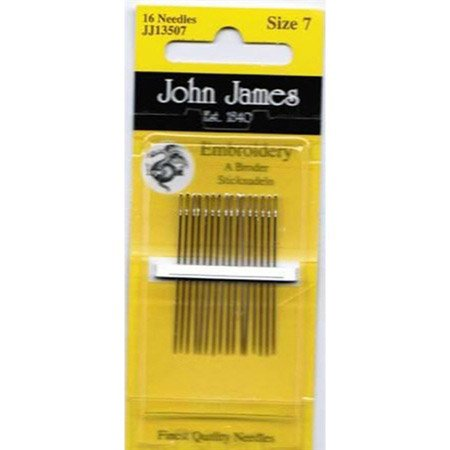 Colonial Needle Crewel/Embroidery Hand Needles-Size 7 16/Pkg