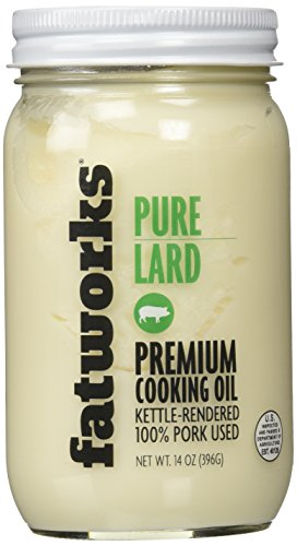 Fatworks Foods, Lard Pure, 14 Ounce
