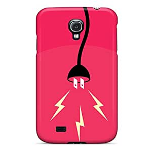 Hot Snap-on Electricity Hard Cover Case/ Protective Case For Galaxy S4