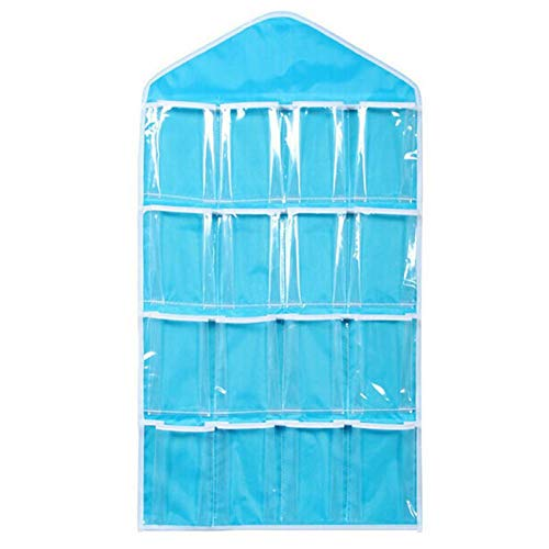 Storage Bags - Arrival Clear Socks Cosmetic Toy Underwear Sorting Storage Bag Door Wall Hanging Closet Organizer - Bras Navy Spinning Cruise Hard Slim Pants Baby Shelves Green Store Pockets - Pant Atp