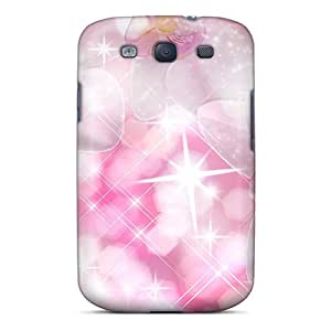 MarilouLCarlson FnYerhL3949wfHWT Case Cover Galaxy S3 Protective Case Orchid Sparkle